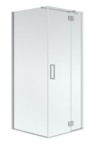 "Neptune Shower Door Azelia Chrome (74""x36""x36"")"