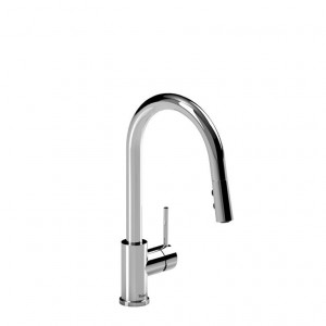Riobel Pro NJ201C Single Lever Njoy Kitchen Faucet Chrome