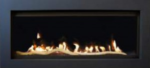"Savannah PINNACLE-55-DELUXE Gas Fireplace (39"" H x 58-1/2"" W)"