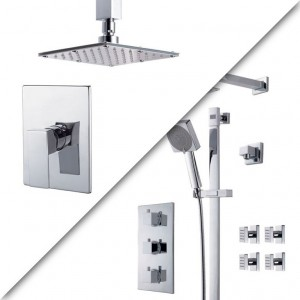 Royal Kit Evolution 6 Shower Faucet Chrome
