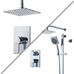 Royal Kit Look 2 Shower Faucet Chrome