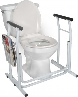 RTL12079 - Free-standing Toilet Safety Rail