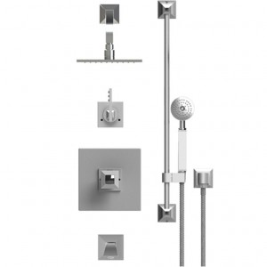 Rubinet 232ICLSCJT Shower System Main Finish Choice