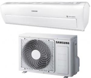 Samsung Ductless Mini Split Heat Pump 9 000 Btu Seer 28 Smart Pearl - High Seer, WI-FI -25°C Series (AR09KSWDHWKX-AR09KSWDHWKN)