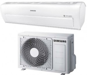 Samsung Ductless Mini Split Heat Pump 12 000 Btu Seer 26 Smart Pearl - High Seer, WI-FI -25°C Series (AR12KSWDHWKX-AR12KSWDHWKN)