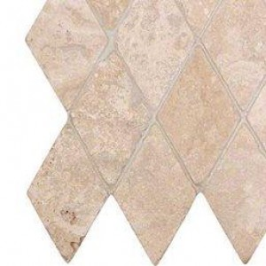 Interlocking Ceramic,Durango Cream 2 x 2 Tumbled in 12 x 12 Mesh(SMOT-DUR-2X2T)