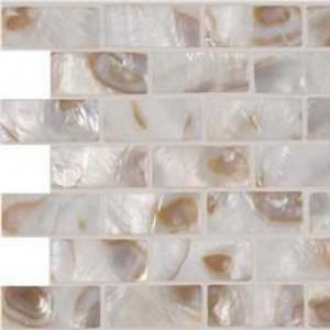 Interlocking Ceramic,Santorini Brick Pattern 3mm (SMOT-GLSSHLBRK-SANTORI)