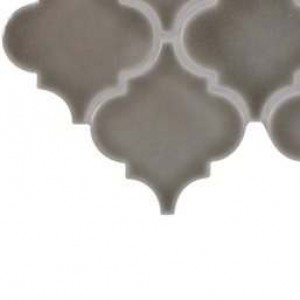 Interlocking Ceramic,Dove Gray Arabesque 8mm(SMOT-PT-DG-ARABESQ)