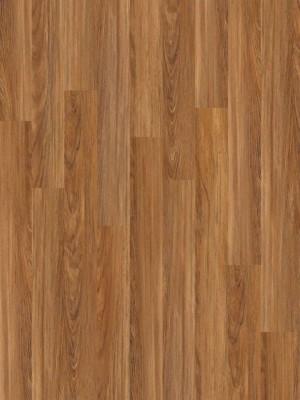 "Floating Vinyl Flooring  WPC  Floorte™  (6""x48""x6.5mm)  603-Teak"
