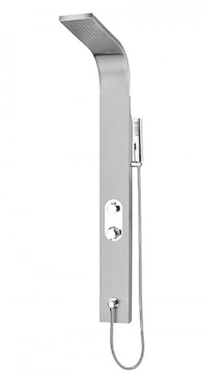 Tenzo ETZST-62 Evolo Collection Shower Panel 2 Functions Stainless Steel