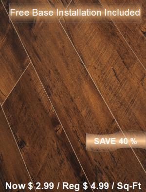 Laminate Floor TF-4612INST / Free Base Installation