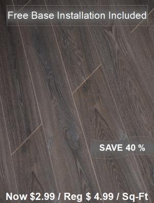 Laminate Floor TF-6003INST / Free Base Installation