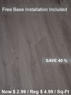 Laminate Floor TF-6020INST / Free Base Installation