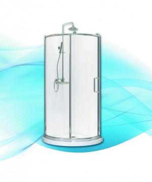 "Acrylic Shower Door Vitality (36""x36"")"