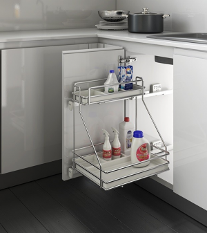 Eurofit XDR-108L Under Sink Rack Left 15""