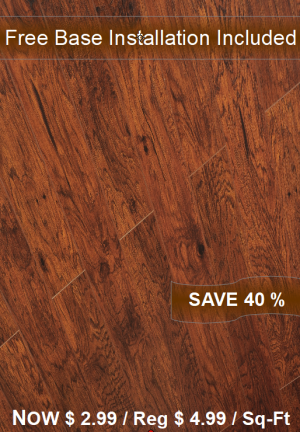 Laminate Floor TF-4104INST / Free Base Installation