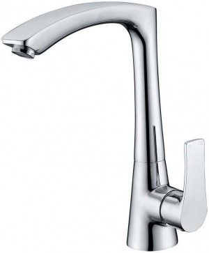 Single Lever Kitchen Sink Faucet Chrome Finish  1808400-CHR