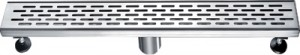 "Toolway 188059 Linear Shower Drain Grill Grid Series (24"")"