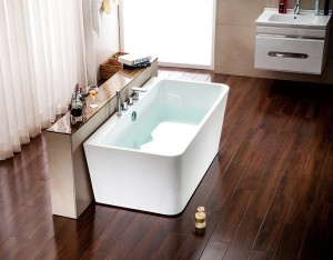 """Jade 1901-67-70 Freestanding Acrylic Bathtub 67"""""""