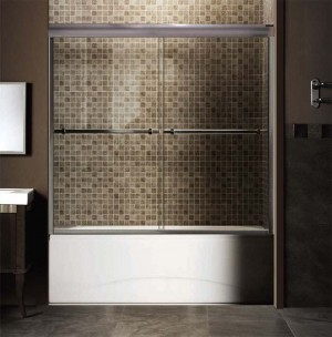 "Tomlin - FLORA - 2042TE Shower Door 51-1/2"" - 55-1/2"""