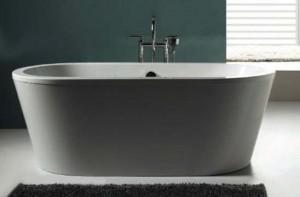 "Tomlin - TOMSLIK-BAT ACRYLIC Freestanding bathtub 67"""