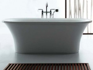 Tomlin - TOMPASSION-BAT ACRYLIC Freestanding bathtub 69""
