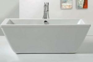 "Tomlin - TOMZENDOS-FS-BAT ACRYLIC Freestanding bathtub 71"""