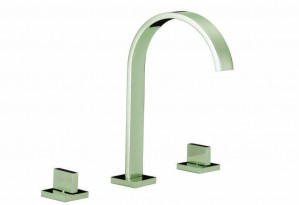 Ceramic Cartridge  Bath & Vanity Faucet Brushed Finish, 83H04-BN