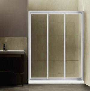 "Tomlin - WINSTON - 9644 Shower Door 39-1/2"" - 41-1/2"""
