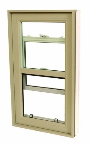 "Outside Window Hybrid Guillotine Alu/Pvc (48""x48"")"