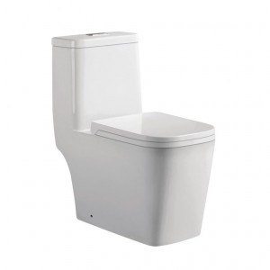 Jade TS-128 Annabelle Collection 1-Piece 0.88/1.28 GPF Dual Flush Elongated Toilet