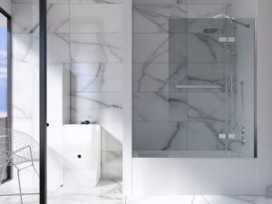 """Mirolin BO60L/R Austin Skirted Baths - Soaker 60"""" White"""