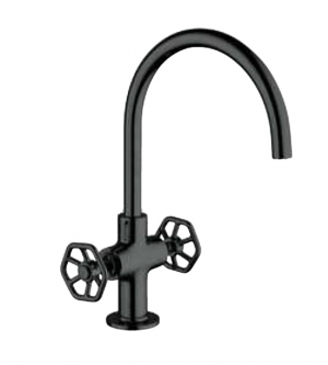 Cabano 61001D.275 Kitchen Faucet Blacksmith Collection Matte
