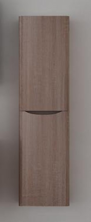 Bathroom Vanity Cabinet,  White Oak, Right  15-3/4""