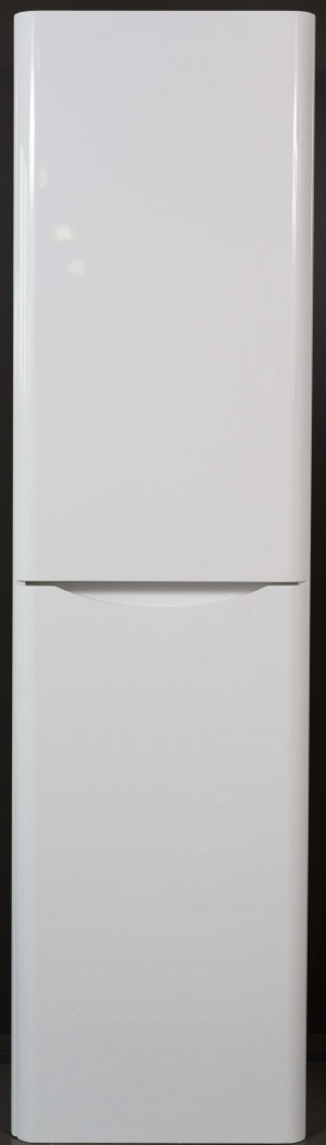 Bathroom Vanity Cabinet,  Hi Gloss White, Right  15-3/4""
