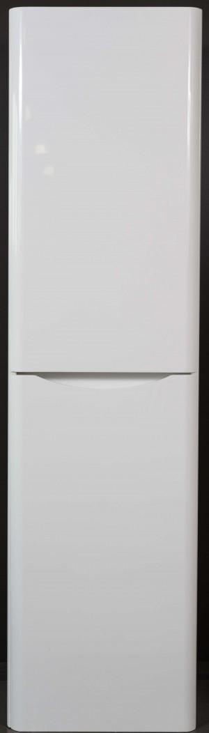 "Bathroom Vanity Cabinet,  Hi Gloss White, Right  15-3/4"""