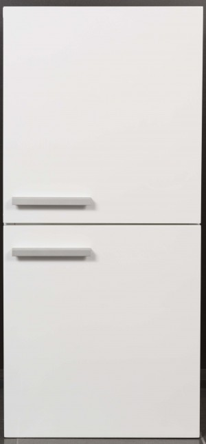 Bathroom Vanity Cabinet,  Hi Gloss White  12-1/2""