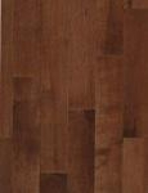 BSL Signature Maple Hardwood Flooring, Natural Grade, Cappuccino (3-1/4x3/4)
