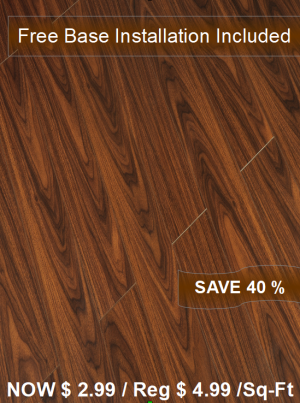 Laminate Floor TF-1119INST / Free Base Installation