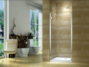 Shower Door CK6211, Chrome  31-1/2""