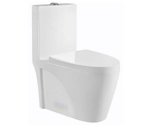 "One Piece 12011 Toilet Dual Flush (25.98""x15.35""x30.31"")"