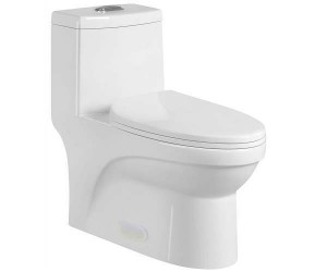 "One Piece 12050 Toilet Dual Flush (27.95""x14.56""x27.55"")"