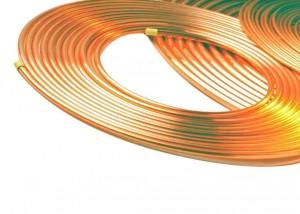 "Copper Tube Pancake Coil 1/4"" O.D.   25'"
