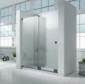 """Covey SS07 Shower Door Black (76""""x60"""")"""