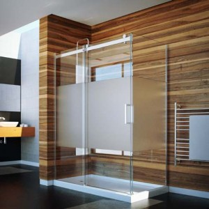 "Tomlin - FLOW - CPL408 Shower Door 45""-47"""