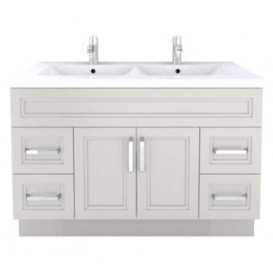 Cutler Kitchen & Bath Urban 48-in x 22-in Contemporary Bathroom Vanity, Morning Dew
