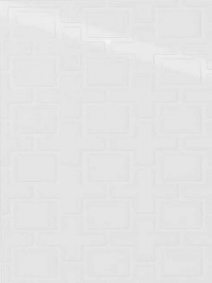 "Ceramic Tiles Showscape Square Lattice Stylish White (12""x24"")"