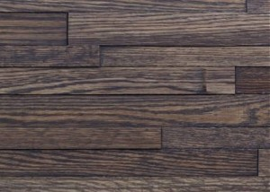 "Decorative Wall in Red Oak, Classik Debussy (13.5""x53.5"")"
