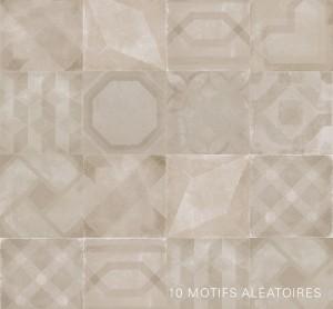 """Porcelain Tiles, Vintage Decor (Mix) Cemento (8""""x8"""")"""