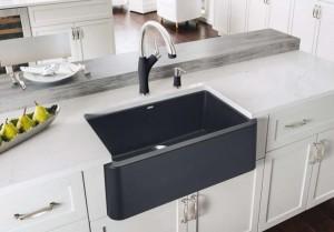 "Blanco Ikon 401831 Kitchen Sink Anthracite 19""x32-5/16""x9-1/4"""